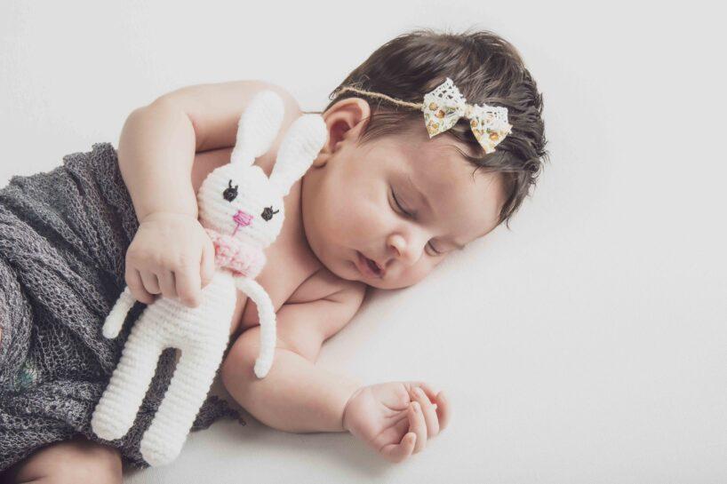newborn coniglietto